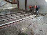 Резка и демонтаж металоконструкций и перекрытий второго этажа .