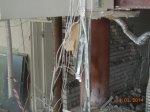 демонтирован подвесной потолок, снесены быстровозводимые перегородки .